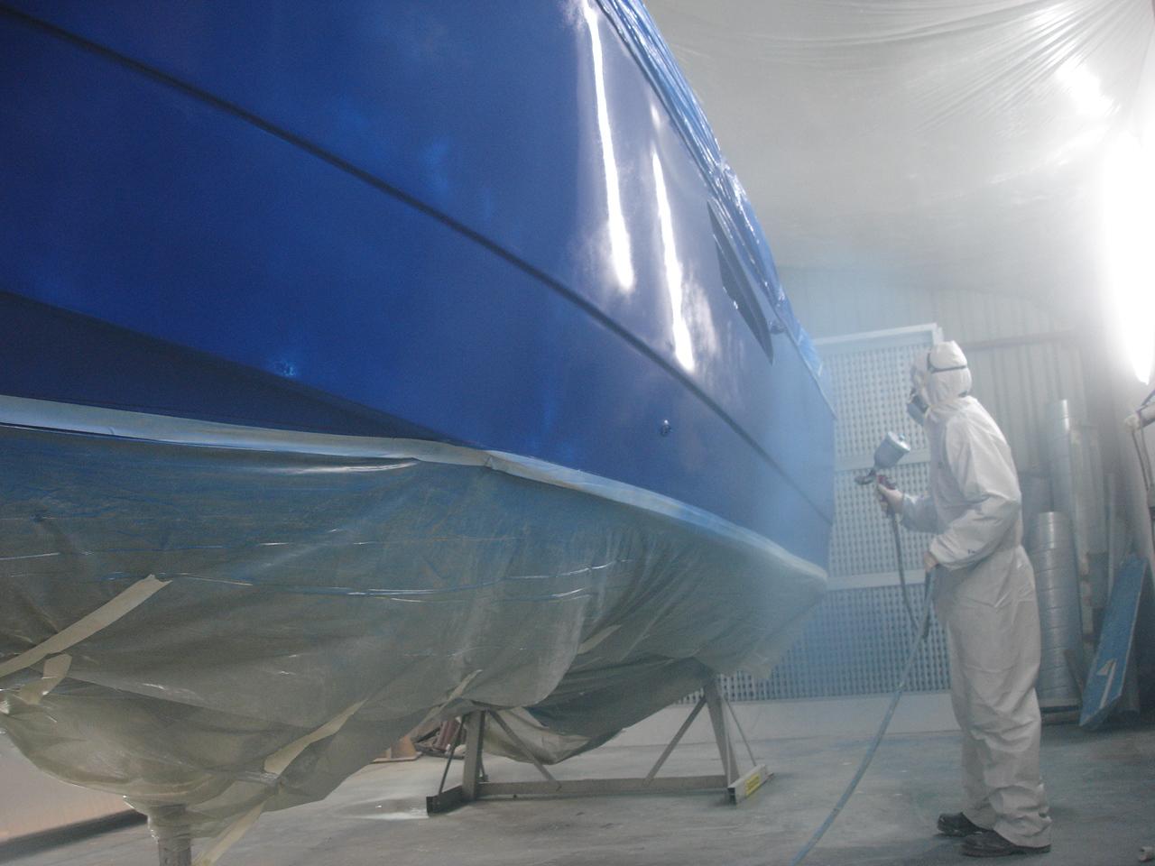 peinture de coque marine arzon