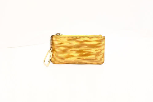Buy preloved Louis Vuitton Cles in Epi Yellow