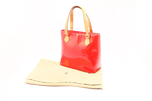 Louis Vuitton Houston Tote Vernis Red
