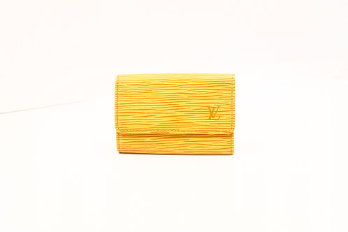 buy preloved Louis Vuitton Cles multi 6 Epi Yellow