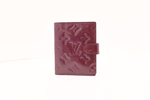 Louis Vuitton Card Case in Violette Vernis Leather
