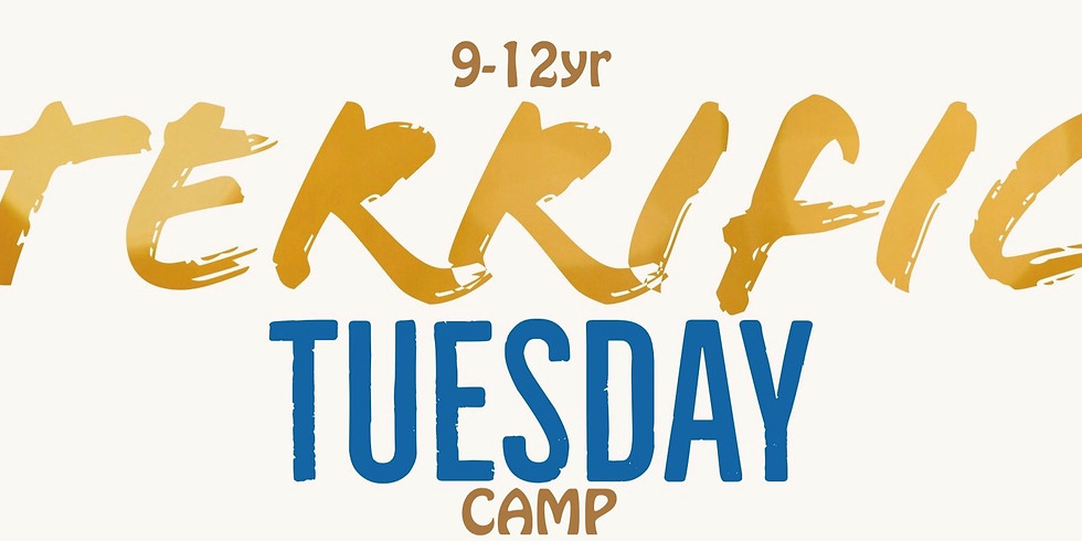 Day Camp Tuesday May 26. 9-12 year olds.