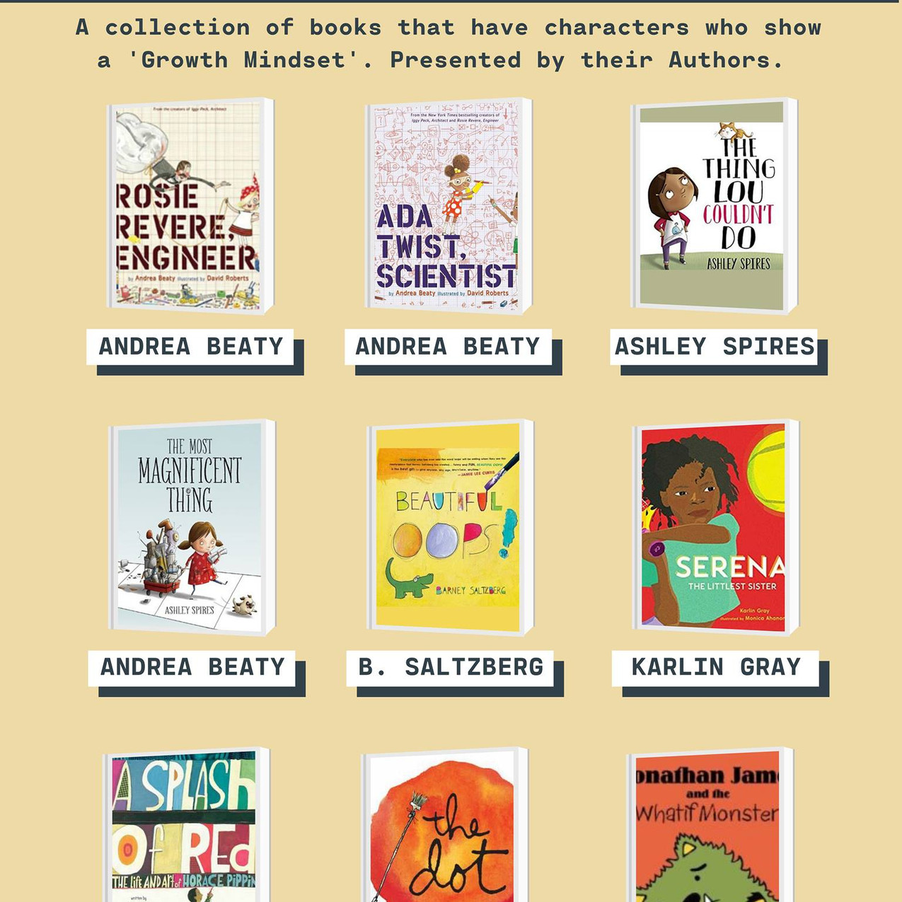 Growth Mindset Read-Alouds