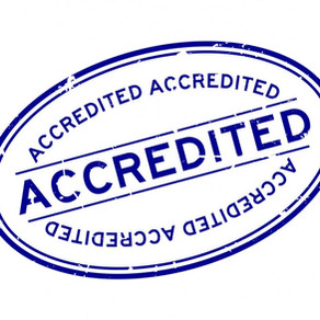 We Are Approved and Accredited!
