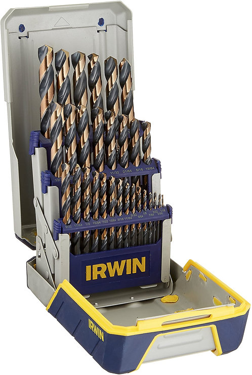 Irwin 29 Piece Black and Gold Drill Bit Set