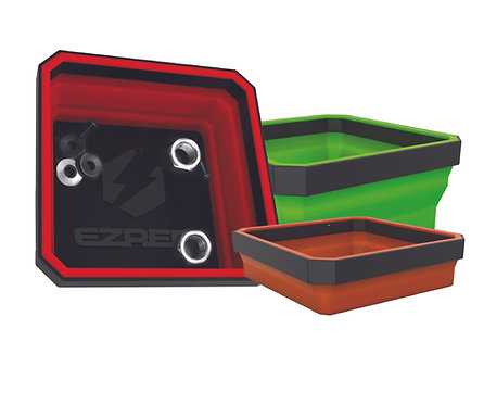 EZ-Red 3pc Expandable Magnetic Parts Trays