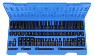 "GP 1/4"" Surface Drive 72 Piece Impact Socket Set"