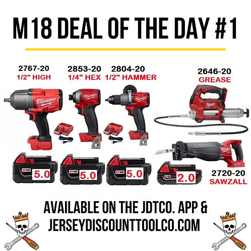 M18 Deal of the Day #1