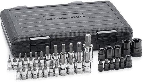 Gearwrench 36pc Drive Torx® Bit Socket Set