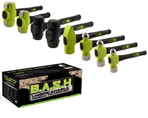 WILTON 8 Piece BASH Master Hammer Assortment