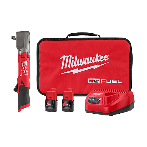 """M12 FUEL™  1/2"""" Right Angle Impact Wrench Kit"""