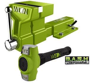 WILTON BASH 5' ATV VISE KIT with Mounting Bracket