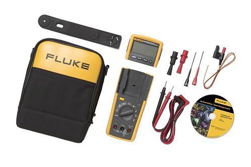 Fluke MultiMeter Tru RMS with Removable Head and Accessories