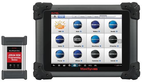 Autel HD Fleet MaxiFlash Elite Programming and Scan Tool