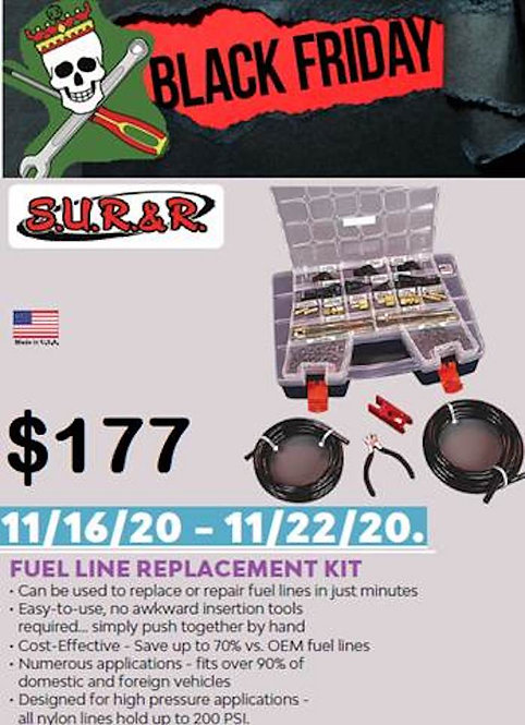 Fuel Line Replacement Kit