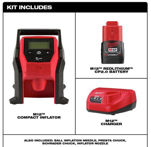 M12 Inflator 2.0 Kit