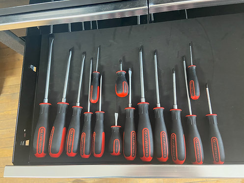 Gearwrench 15pc Dual Material Screwdriver Set