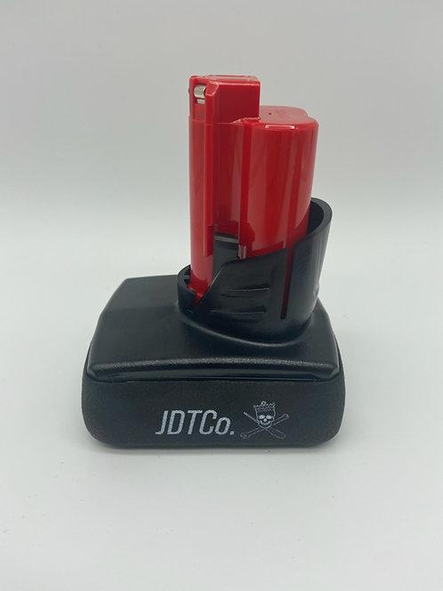 JDTCo. 12v Flat Bottom Battery Boot