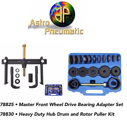 Master Front Wheel and Heavy Duty Drum Combo