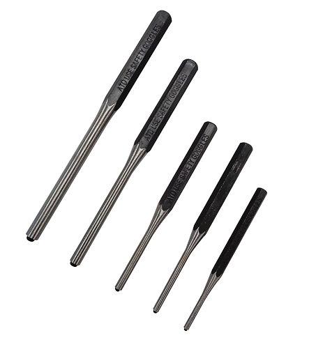 5pc Roll-pin Punch Set
