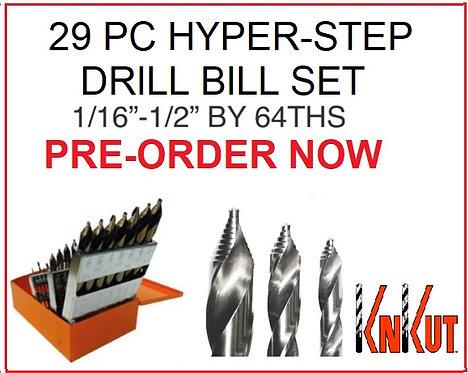 KnKut 29pc Hyper-Step Drill Bit Set *PRE-ORDER*