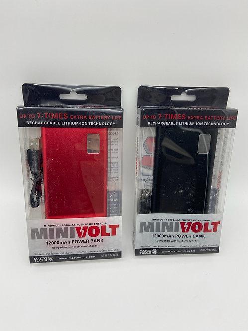 MiniVolt 12000mAh Power Bank