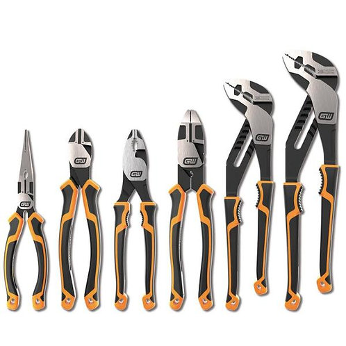 Gearwrench 6 Piece Pitbull Pliers Set Dual Grip