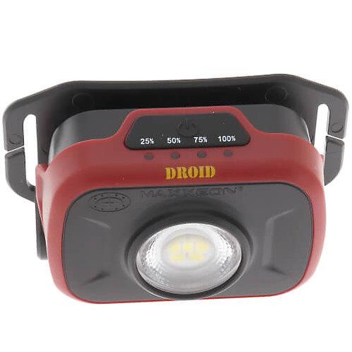 MAXXEON WorkStar® 500 DROID Technician's Mini Rechargeable Headlamp