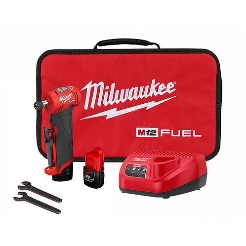 MILWAUKEE M12 Fuel™ Right Angle Die Grinder Kit