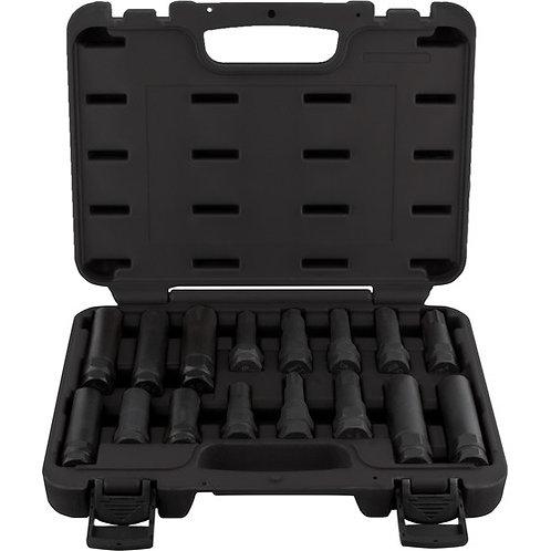 Cal-Van 16 Piece Wheel Lock Master Key Set
