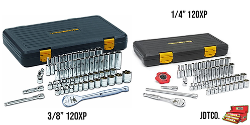 Gearwrench 120XP 1/4 & 3/8 Master Socket Combo