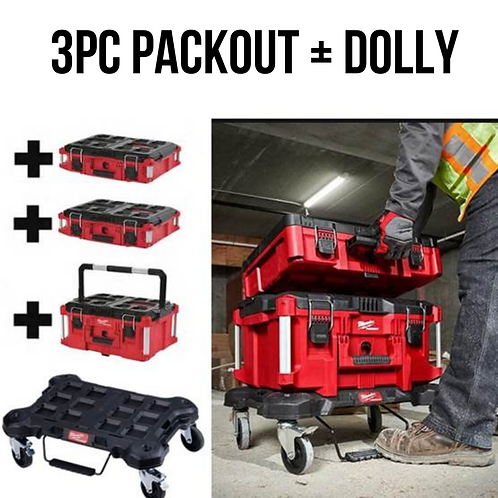 Milwaukee Packout w/ Dolly