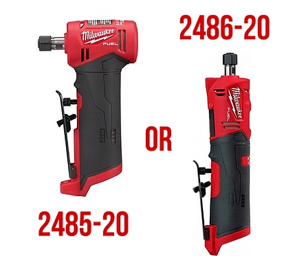 Milwaukee M12 Die Grinder Bare Tool - Straight or Right Angle
