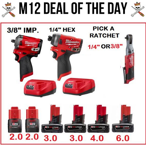 M12 Deal of the Day
