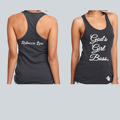 God's Girl Boss Racerback - FREE SHIPPING