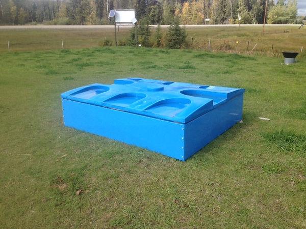 Geo Thermal Tank for winter watering