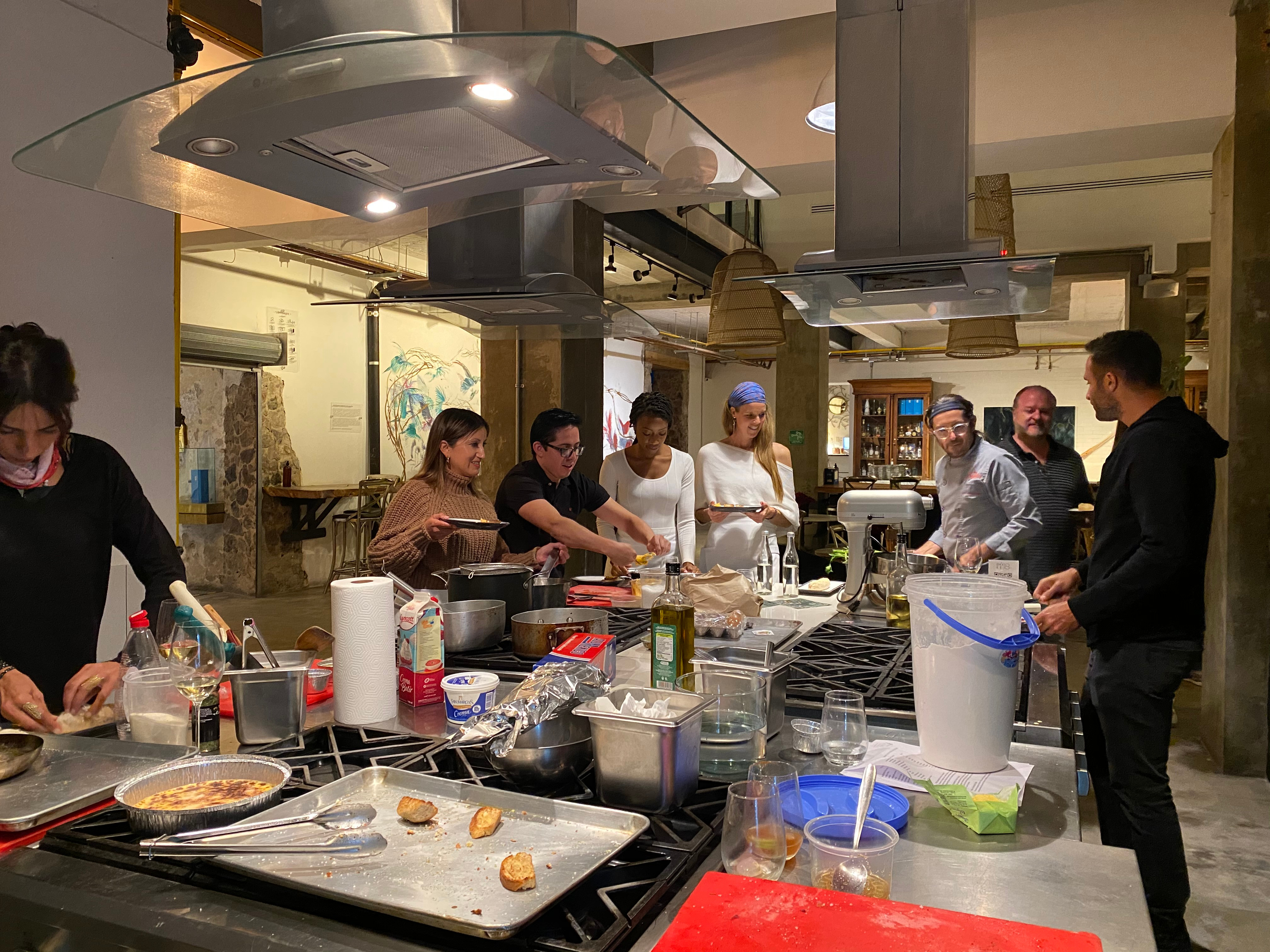 Cooking Class with Chef Andrés Trillo