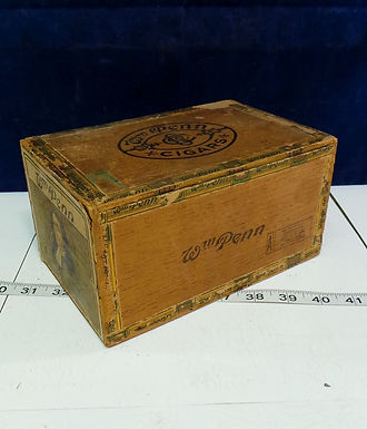 W M Penn Cigar Box