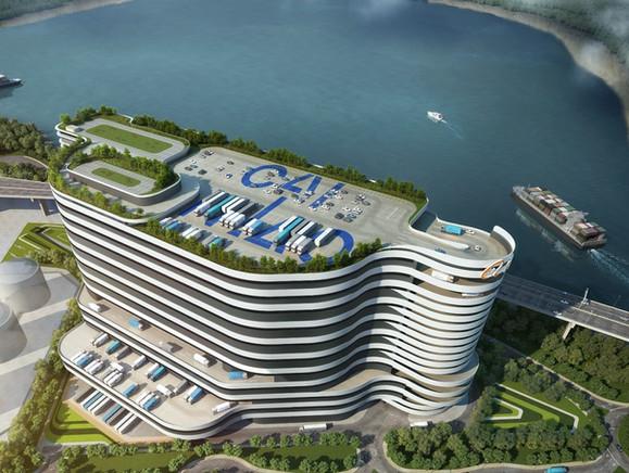 Alibaba - Cingleot Logistics Center, H.K.