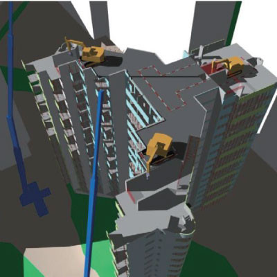 4D模擬,建造流程模擬