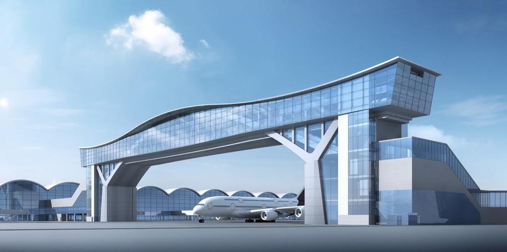 Sky Bridge, Hong Kong Airport