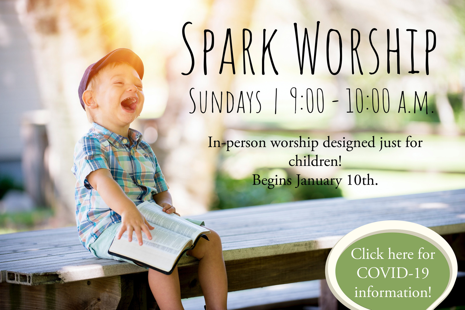 Spark Worship begins January 10th!