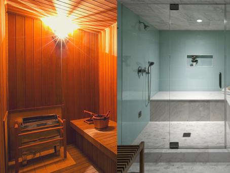 Sauna Seca ou a vapor?