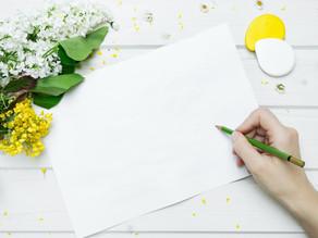 Et si vous écriviez une lettre à votre bébé ?