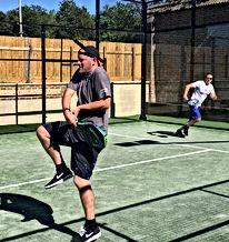 Padel Tennis Players Somborne