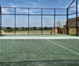 Somborne Padel Tennis View