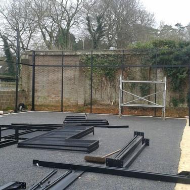 Padel Court Construction