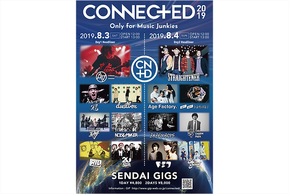 CONNECTED2019〜Only for Music Junkies〜