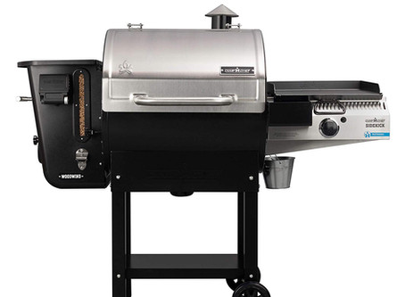 How About a New Pellet Grill For The Holidays? Introducing the New Camp Chef Woodwind Wifi!