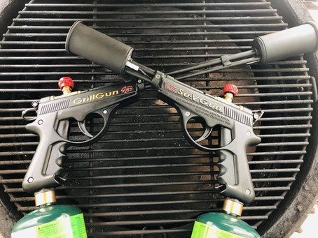 Enter to Win a Free GrillGun or Su-VGun Torch on May 10th!